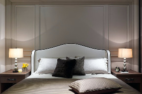 港式 三居 大户型 复式 跃层 80后 小资 卧室图片来自高度国际姚吉智在146平米港式家居不轻浮不造作的分享