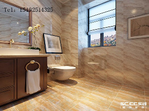 中式 三居 实创 卓越 蔚蓝群岛 卫生间图片来自快乐彩在卓越蔚蓝群岛129平三居室的分享