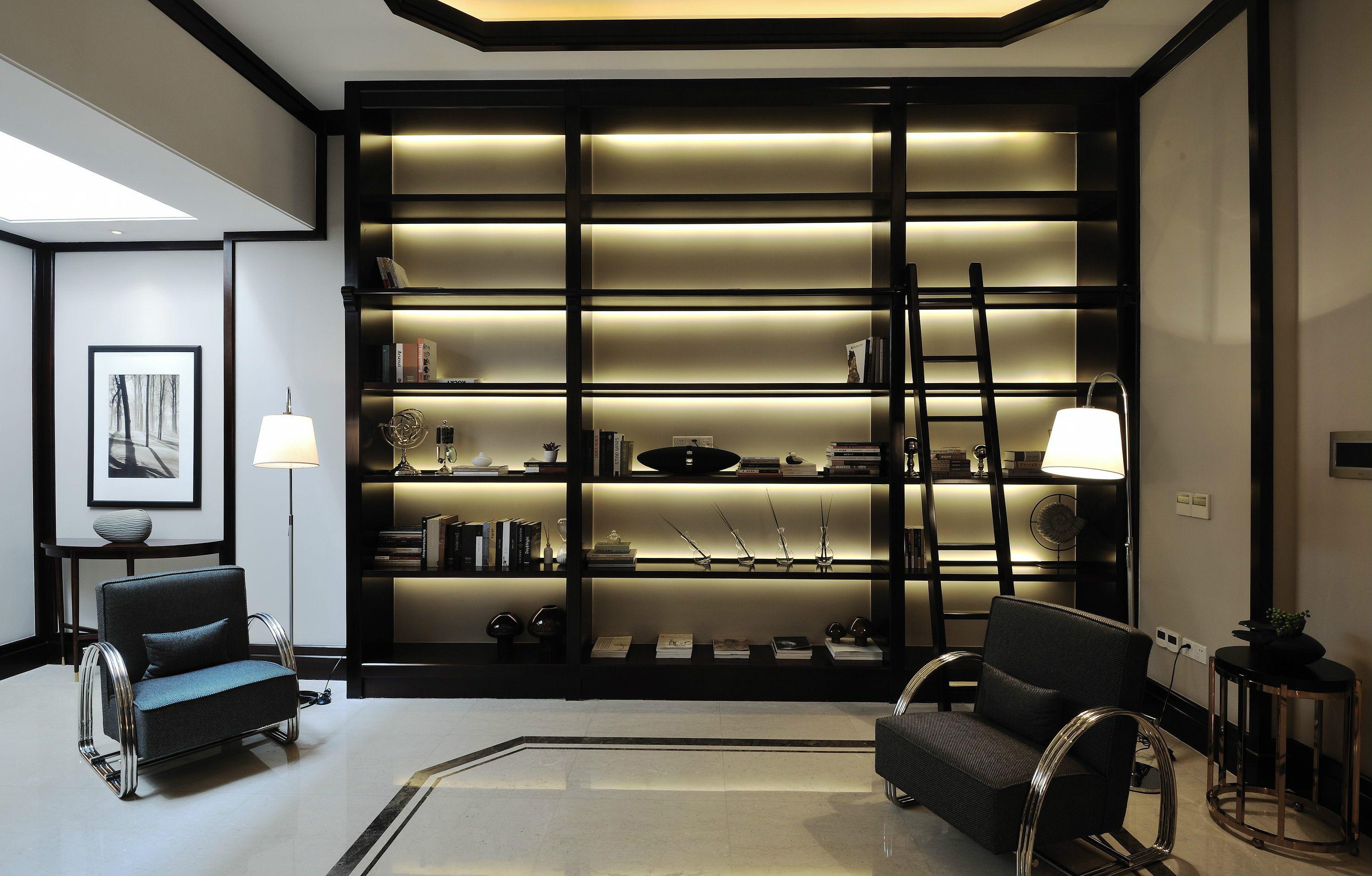 别墅装修 别墅设计 紫禁壹号院 美式风格 联排别墅 别墅 书房图片来自北京高度国际在联排别墅优雅美式风格的分享