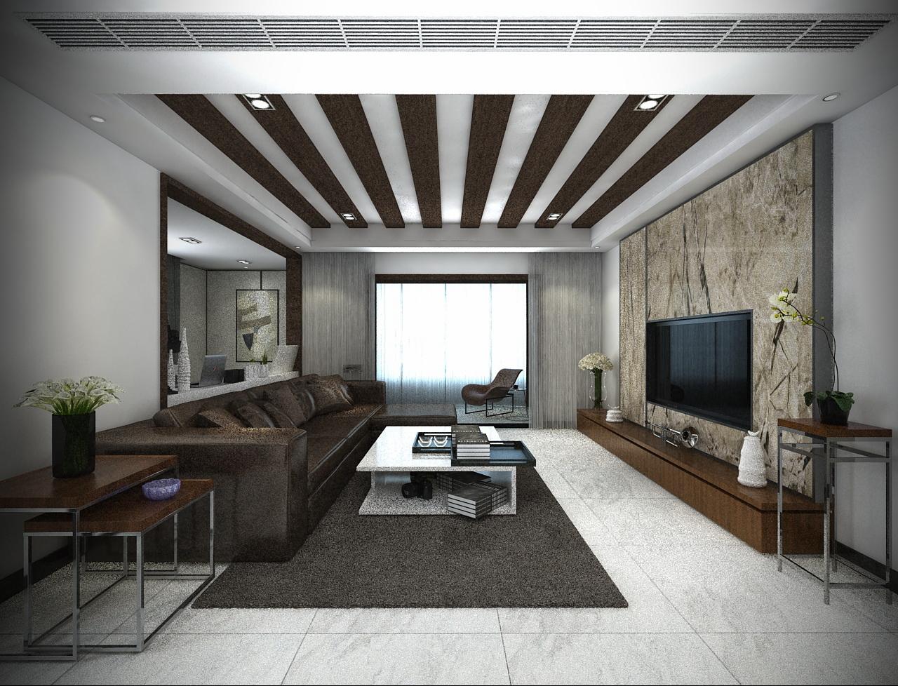 客厅图片来自我是小样在大唐果三室117平现代风格的分享
