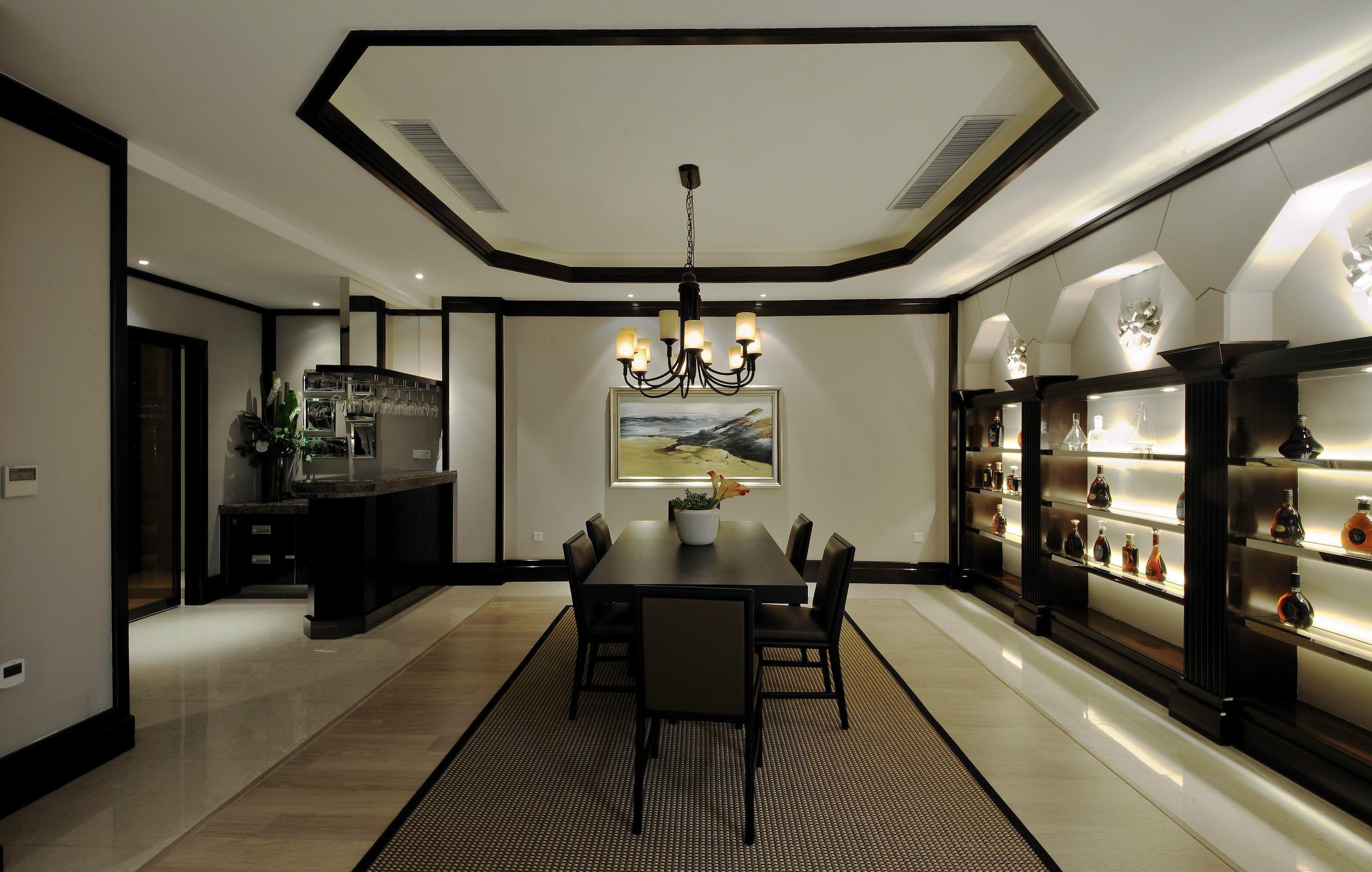 别墅装修 别墅设计 紫禁壹号院 美式风格 联排别墅 别墅 其他图片来自北京高度国际在联排别墅优雅美式风格的分享