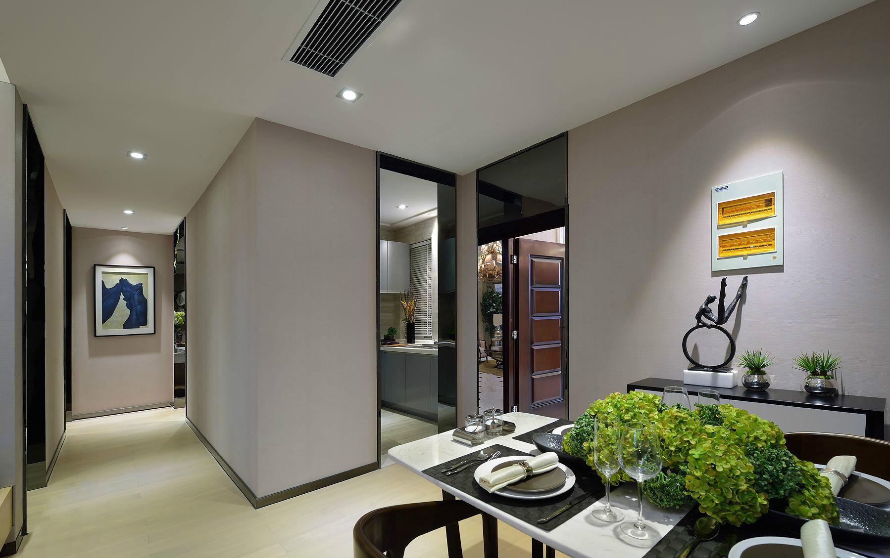 简约 现代 三居 大户型 复式 跃层 80后 小资 白领 厨房图片来自高度国际姚吉智在140平米现代简约三居向往的生活的分享