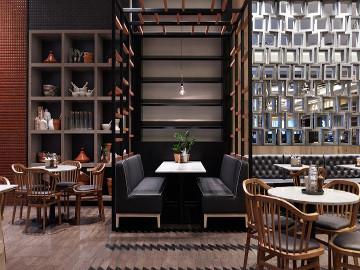 """温馨""""的餐厅设计"""