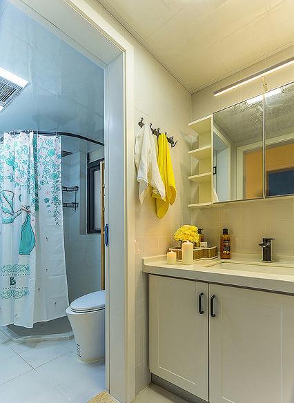卫生间图片来自家装大管家在温馨舒适 96平现代简约雅致3居的分享