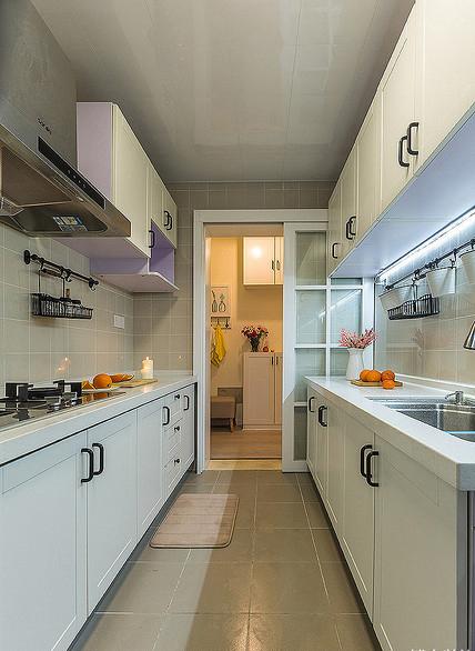 厨房图片来自家装大管家在温馨舒适 96平现代简约雅致3居的分享