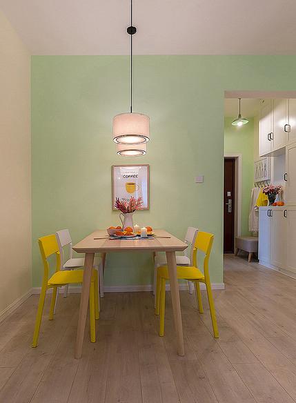 餐厅图片来自家装大管家在温馨舒适 96平现代简约雅致3居的分享