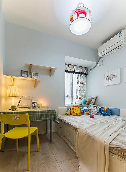 卧室图片来自家装大管家在温馨舒适 96平现代简约雅致3居的分享