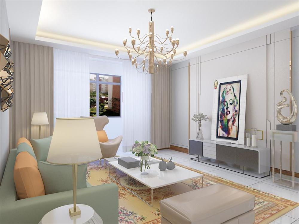 简约 二居 白领 客厅图片来自阳光放扉er在【力天装饰】奥莱城 108㎡ 现代的分享