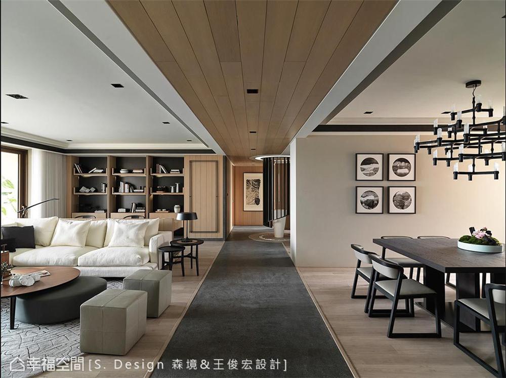 四居 现代风格 小资 装修风格 设计风格 居家风格 客厅图片来自幸福空间在230平!福田旅居,敞心驿站!的分享