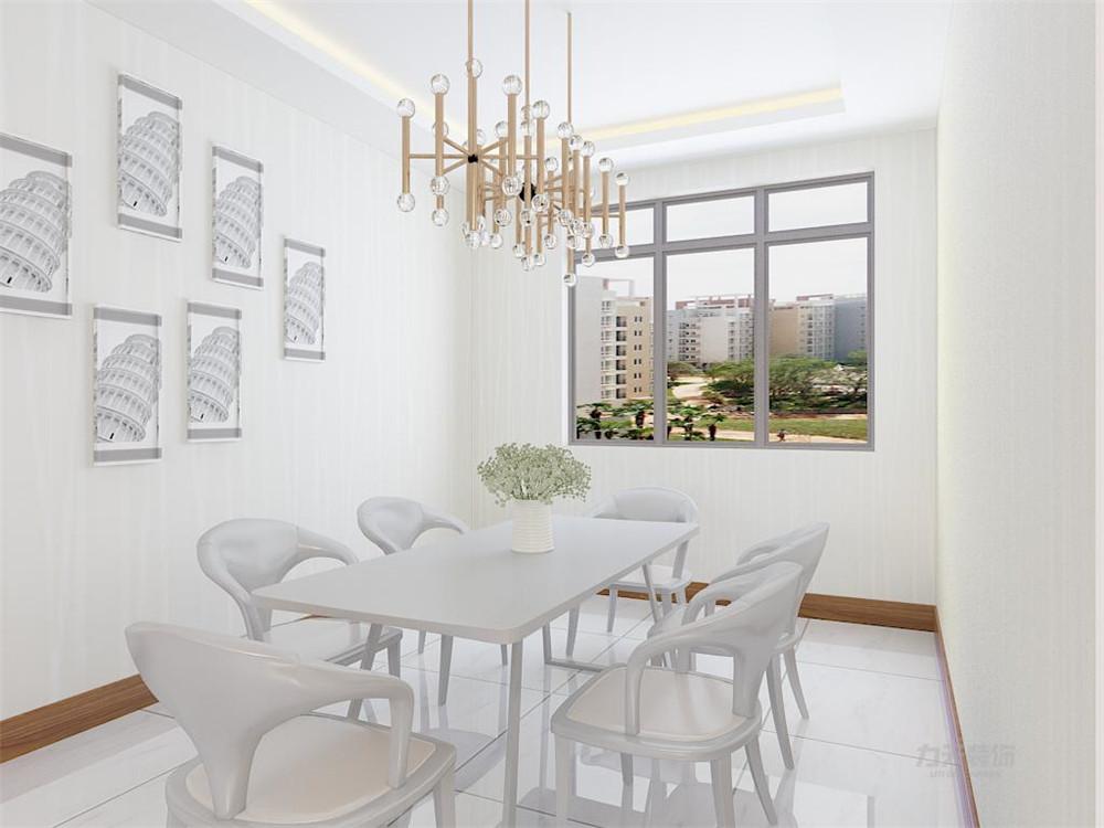 简约 二居 白领 餐厅图片来自阳光放扉er在【力天装饰】奥莱城 108㎡ 现代的分享