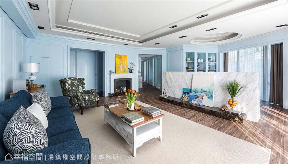 公寓房 标准格局 装修设计 居家风格 客厅图片来自幸福空间在150平!畸零屋变创意格局海景宅的分享