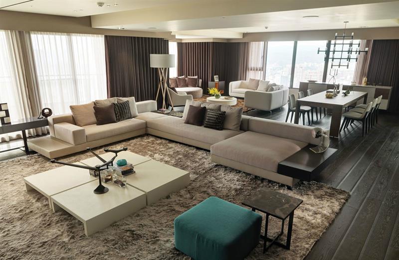 现代 简约 客厅图片来自成都二十四城装饰公司在细緻与冷抽象-现代简约风格的分享