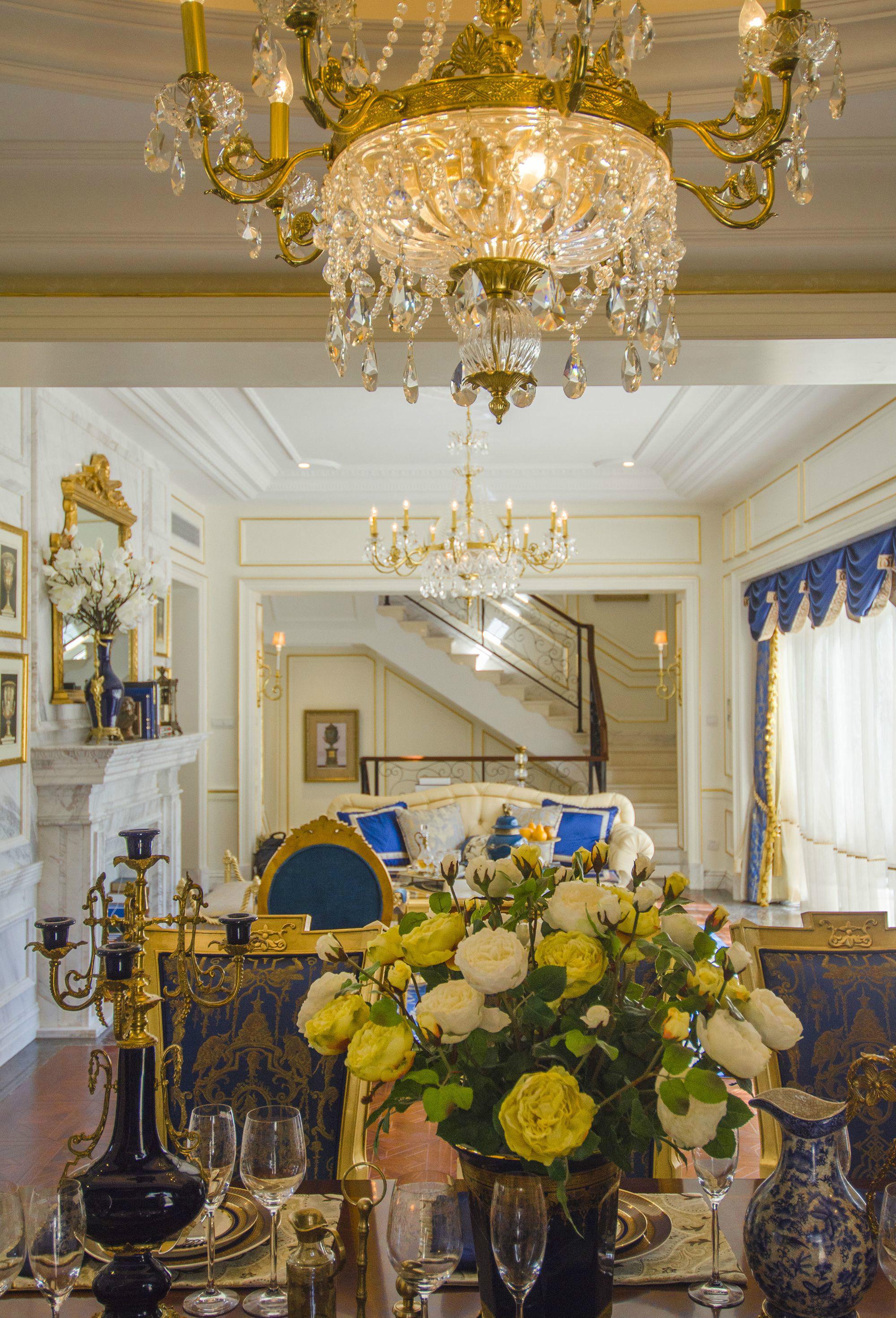 餐厅图片来自北京高度国际在大气,高贵--欧式别墅的分享