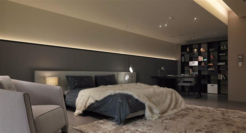 现代 简约 卧室图片来自成都二十四城装饰公司在细緻与冷抽象-现代简约风格的分享