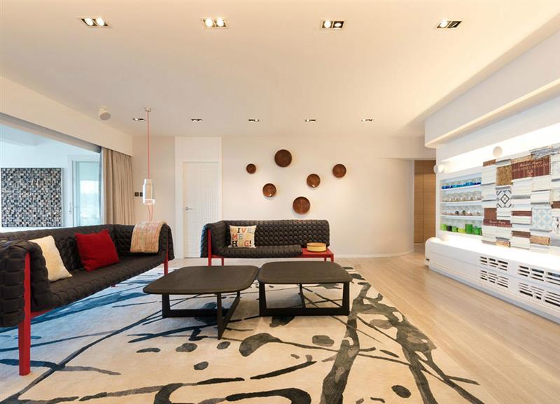 紫御熙庭 现代 简约 客厅图片来自成都二十四城装饰公司在『自然意象』- 现代简约之风的分享