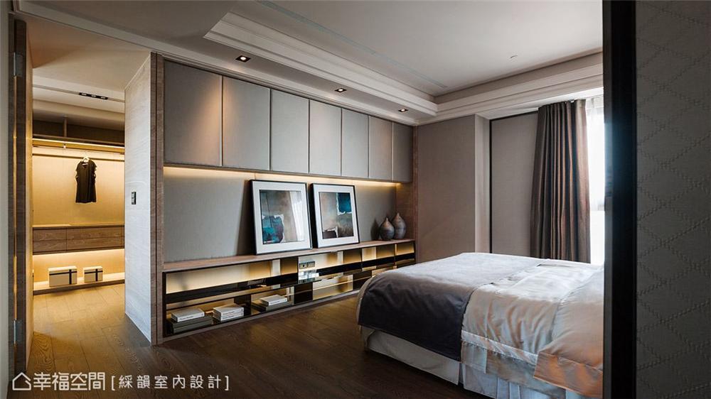 奢华风格 复古风格 幸福空间 居家风格 80后 卧室图片来自幸福空间在310平,微奢诗意生活就像艺术的分享
