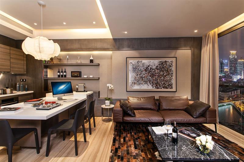 昂世半山观 现代 简约 四室 客厅图片来自成都二十四城装饰公司在轻奢华跃层现代风格案例的分享