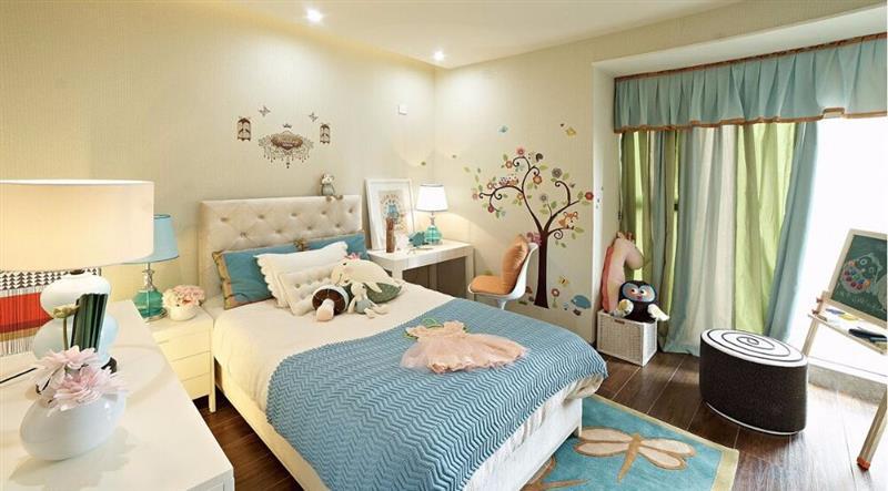 混搭 三居 人居东御佲 卧室图片来自成都二十四城装饰公司在休闲舒适混搭主义的分享