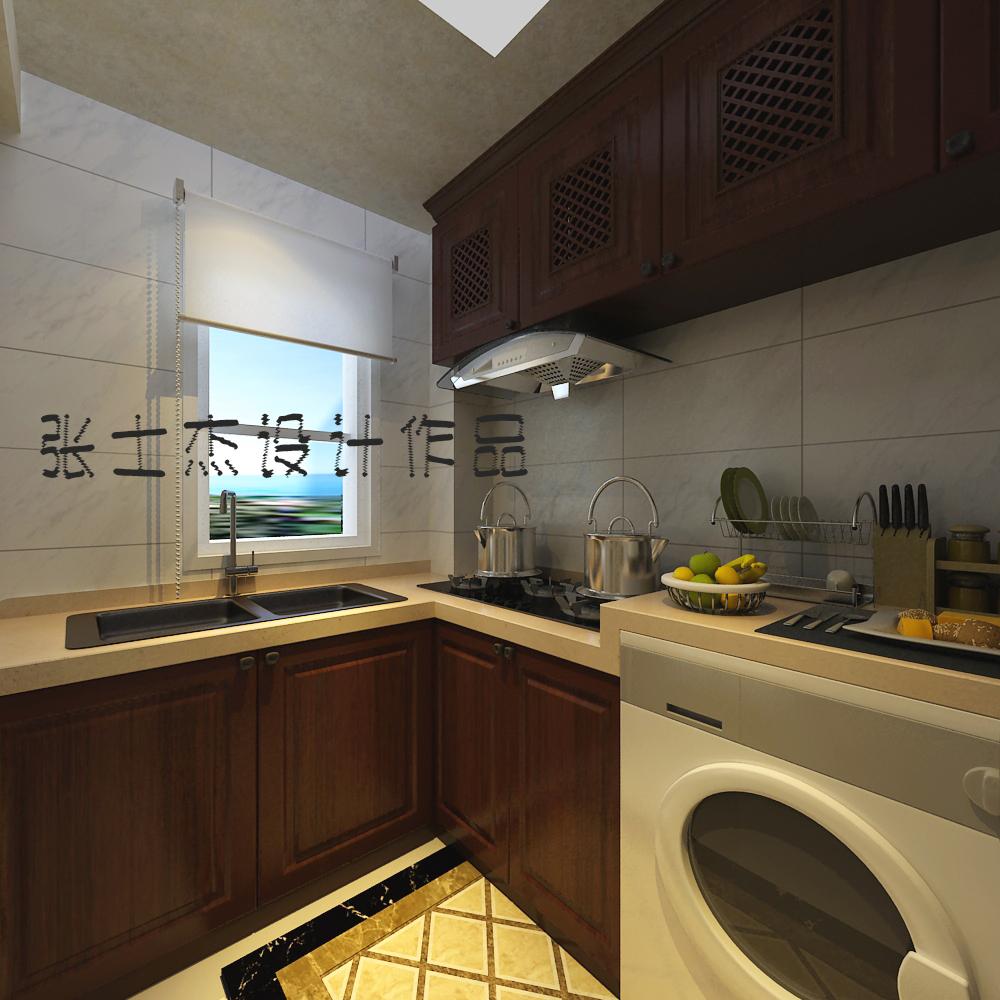 厨房图片来自沈阳百家装饰小姜在美的城150平简欧风格的分享