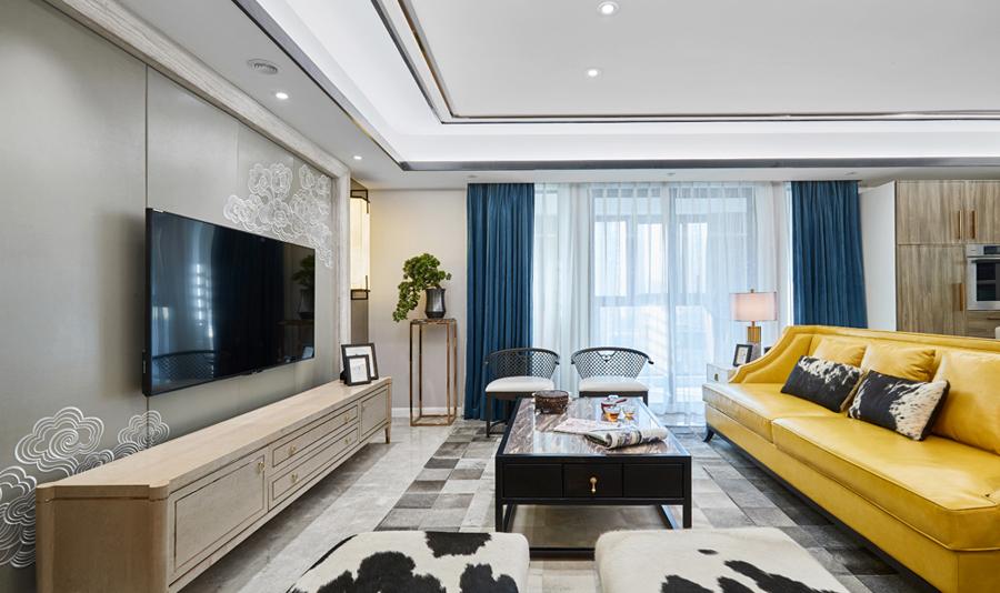 客厅 三居 卧室 餐厅 白领 混搭 80后 小资图片来自乐粉_20180413143017784在用一抹姜黄来装点你的生活的分享