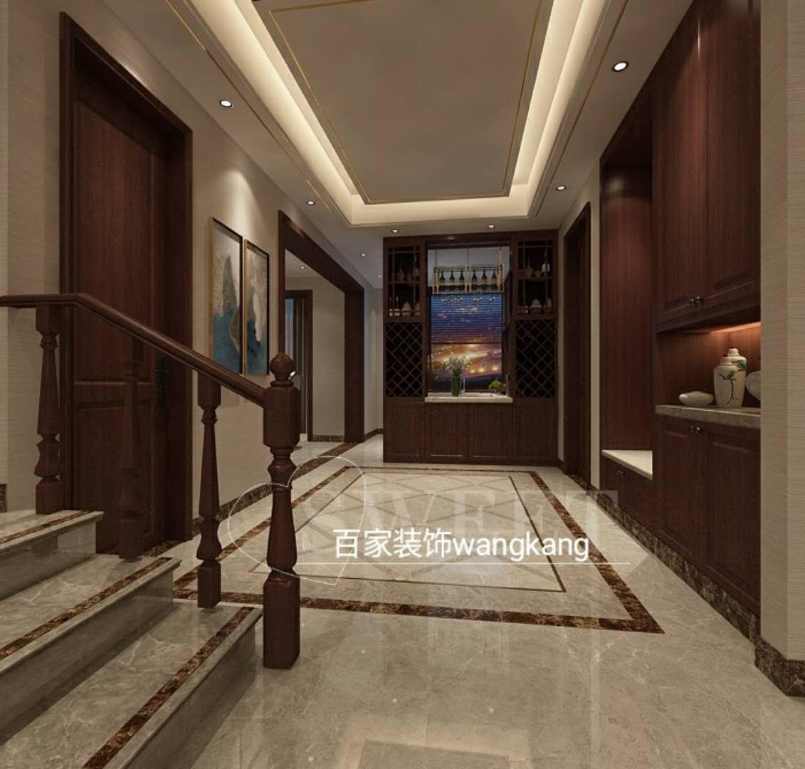 客厅图片来自沈阳百家装饰小姜在丁香水岸150平现代风格的分享
