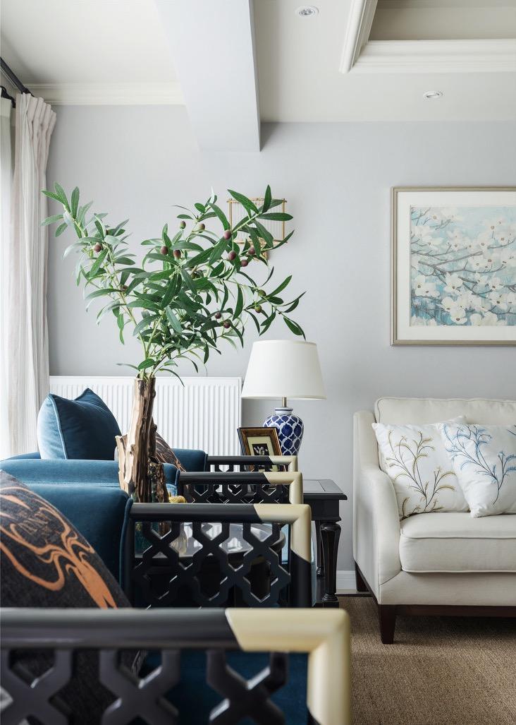 中式 客厅图片来自言白设计在中国风的分享