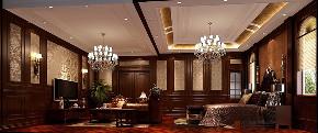 新古典 别墅 复式 跃层 大户型 小资 欧式 卧室图片来自高度国际姚吉智在鱼梁洲900平米新古典独栋别墅的分享