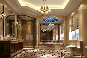 新古典 别墅 复式 跃层 大户型 小资 欧式 卫生间图片来自高度国际姚吉智在鱼梁洲900平米新古典独栋别墅的分享
