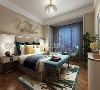 鲁班装饰-绿地城-复式-现代风格-卧室赏析