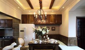 田园 二居 厨房图片来自言白设计在巴黎屋檐下的分享