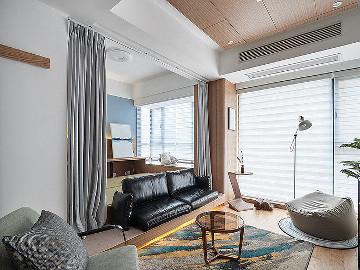 内外通透 98平现代简约舒适3居
