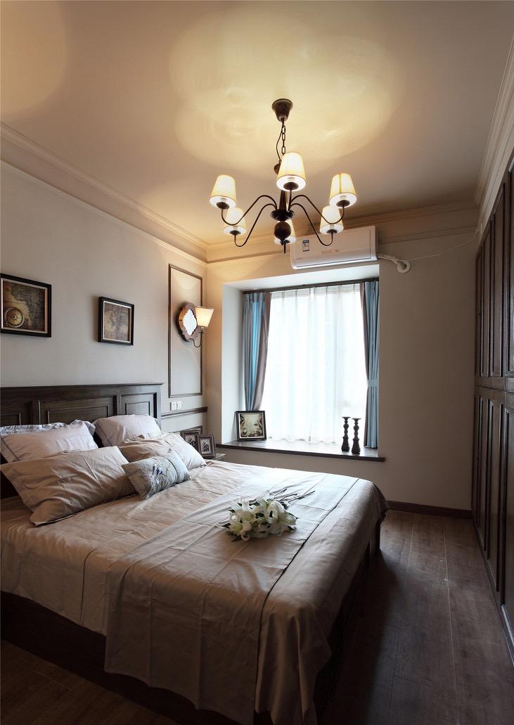 田园 二居 卧室图片来自言白设计在巴黎屋檐下的分享