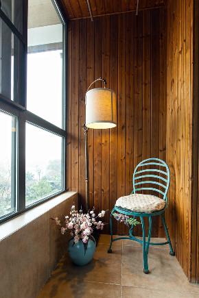 美式 四居 大户型 复式 跃层 别墅 小资 阳台图片来自高度国际姚吉智在225平米玩转时尚的美式范儿的分享