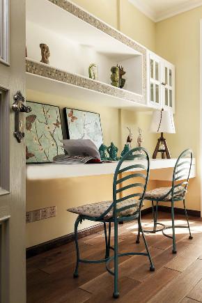 美式 四居 大户型 复式 跃层 别墅 小资 儿童房图片来自高度国际姚吉智在225平米玩转时尚的美式范儿的分享