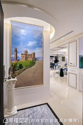 新古典 装修设计 装修风格 玄关图片来自幸福空间在314平,河岸景观宅,艺术飨宴!的分享