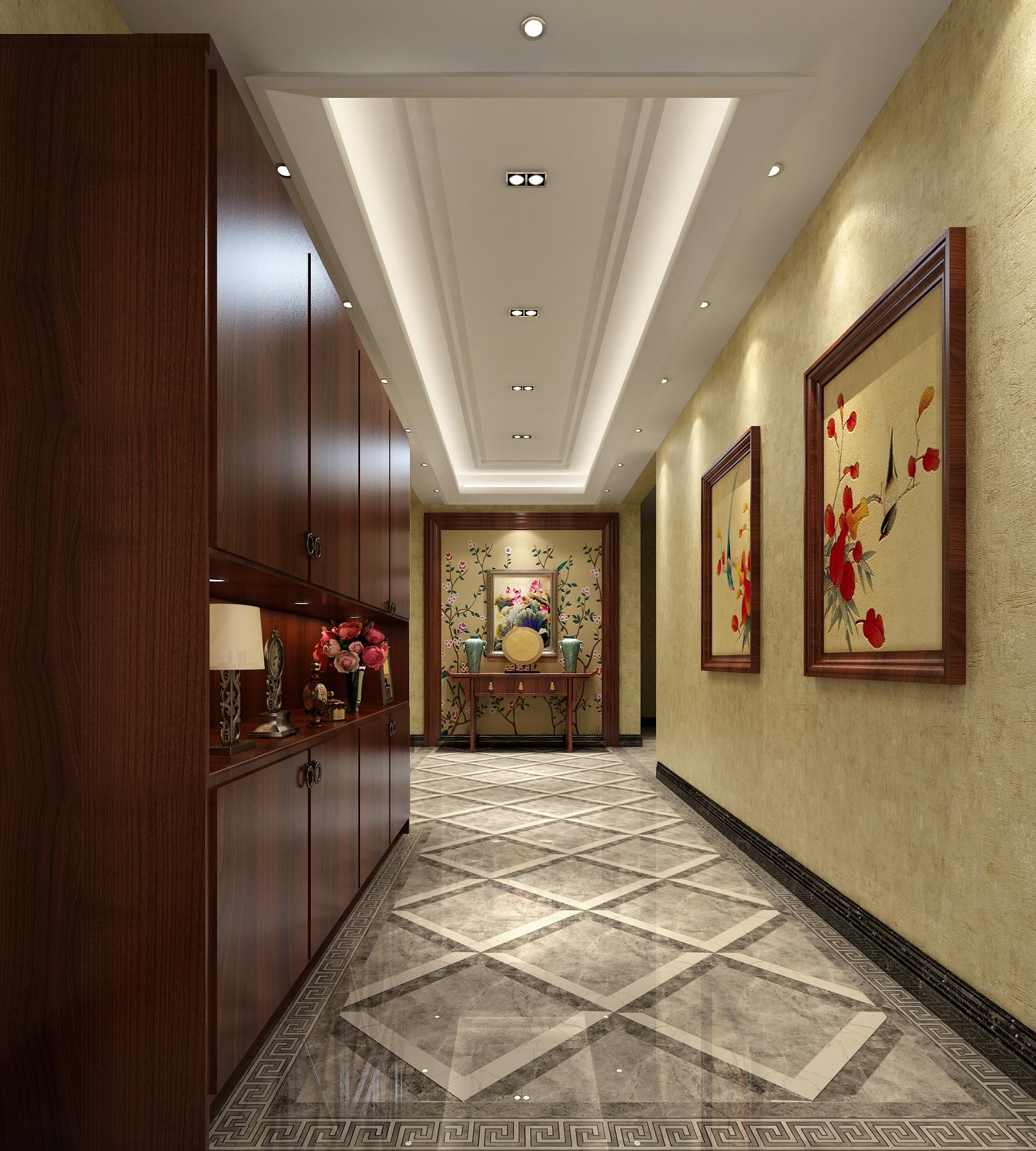 其他图片来自北京高度国际在文安别墅--313平米中式风格的分享