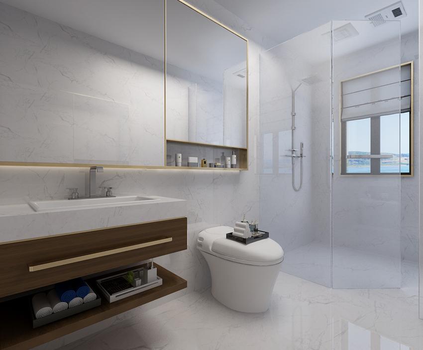 简约 欧式 三居 80后 小资 卫生间图片来自山东济南尚舍别墅装饰在华润·红叶林的分享