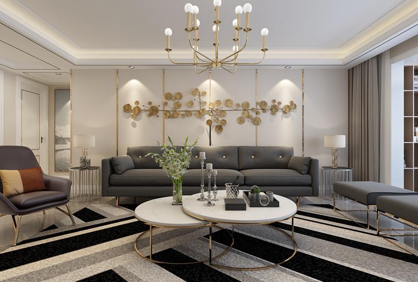 简约 欧式 三居 80后 小资 客厅图片来自山东济南尚舍别墅装饰在华润·红叶林的分享