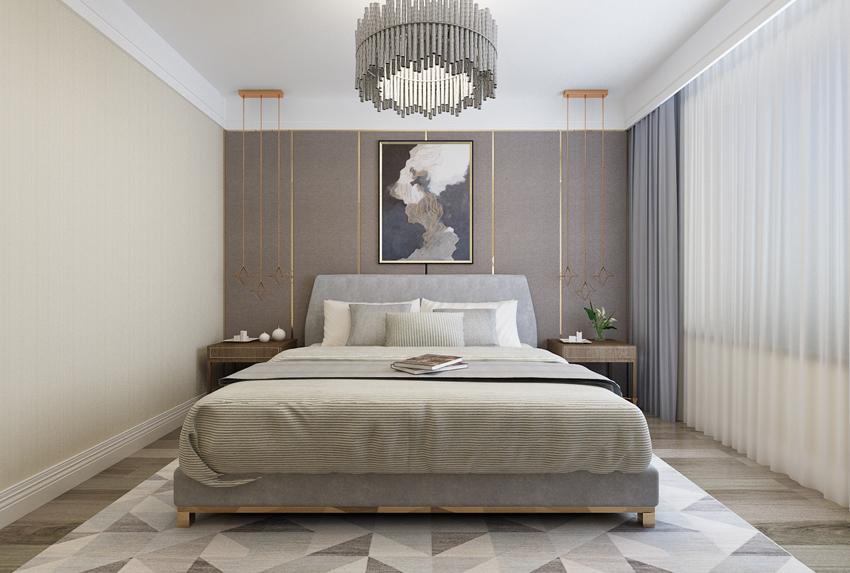 简约 欧式 三居 80后 小资 卧室图片来自山东济南尚舍别墅装饰在华润·红叶林的分享