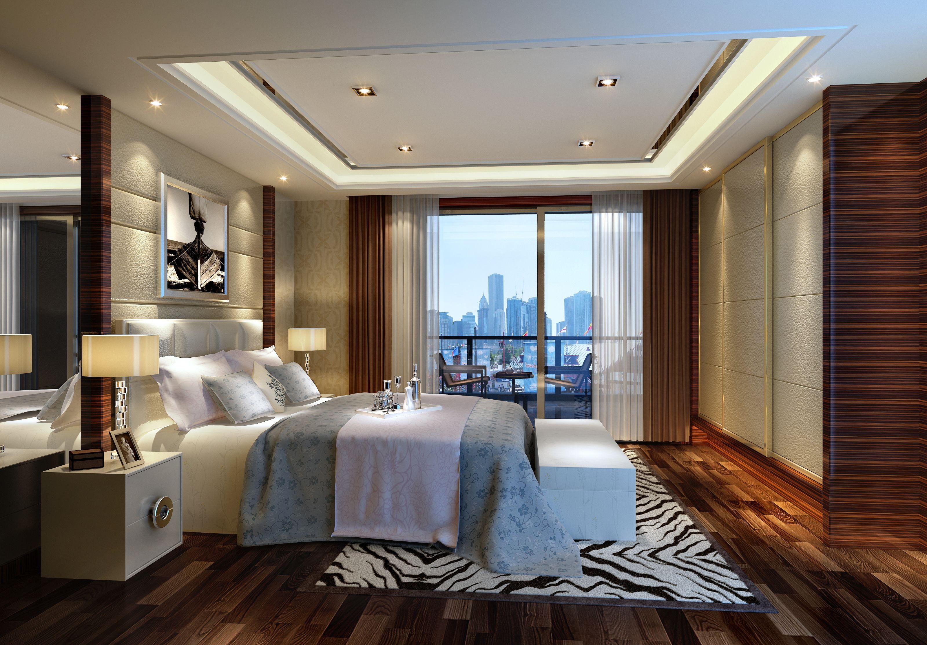 现代风格 三居 别墅 客厅 卧室 旧房改造图片来自成都龙发装饰有限公司在华侨城天鹅堡160㎡现代风格13万的分享
