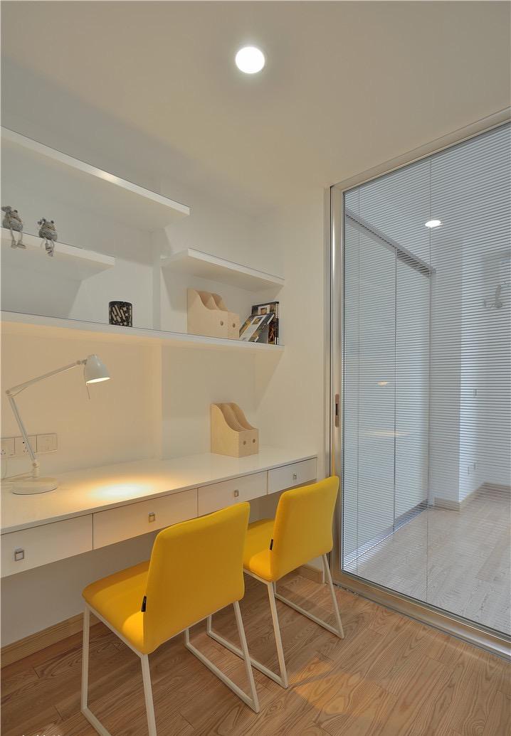 二居 书房图片来自言白设计在简约而不简单的分享