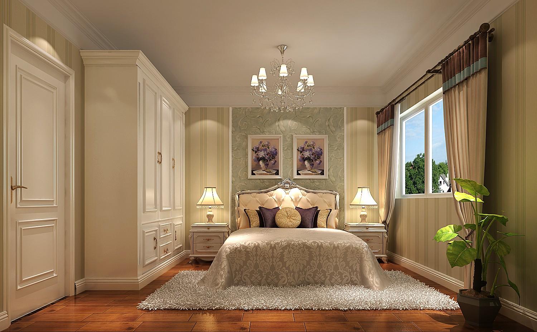 卧室图片来自北京高度国际在万德福广场--180平简欧风的分享