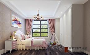 美式 别墅 大户型 跃层 复式 小资 儿童房图片来自高度国际姚吉智在金科王府300平米美式优雅稳重的分享