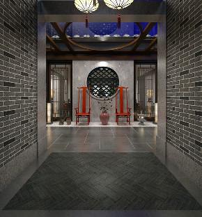 中式 别墅 玄关图片来自用户20000004404262在中国会馆新中式风格的分享