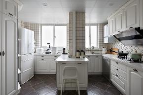 简约 现代 三居 大户型 复式 80后 小资 厨房图片来自高度国际姚吉智在147平米现代简约简单的优雅的分享