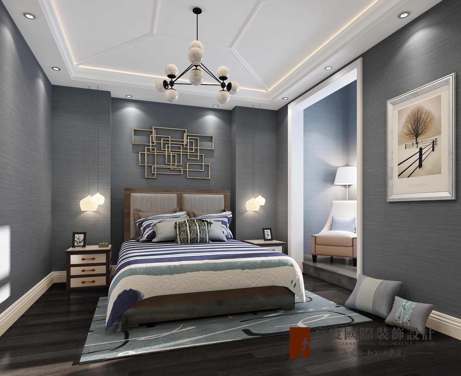 卧室图片来自北京高度国际在法国有浪漫之都之称--法式典雅的分享