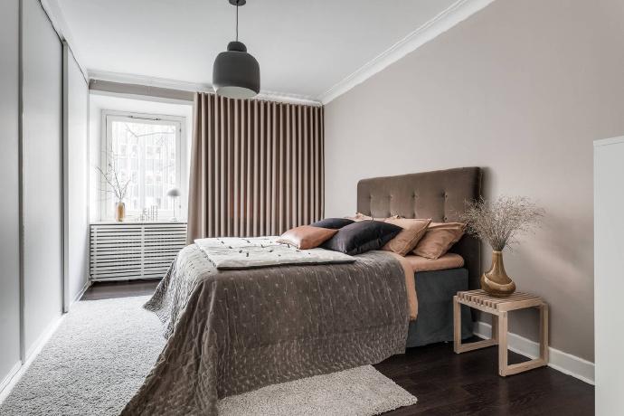 卧室图片来自言白设计在粉色的分享