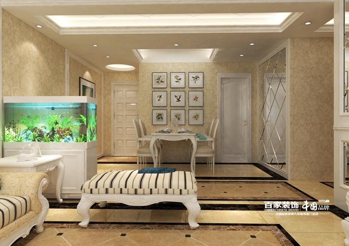 三居 万锦香樟树 欧式风格 客厅图片来自百家设计小刘在万锦香樟树140平欧式风格的分享