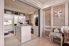 西山艺境 新古典 衣帽间图片来自别墅设计师杨洋在西山艺境古典低奢装修设计的分享