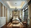 中星红庐别墅项目装修美式风格设计,上海腾龙别墅设计师刁振瑛作品,欢迎品鉴